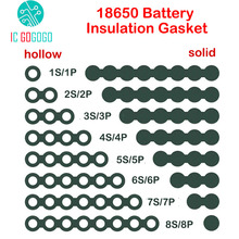 Insulation-Gasket Cell-Glue Battery Barley-Paper Fish-Electrode Lithium-Pack Li-Ion 18650