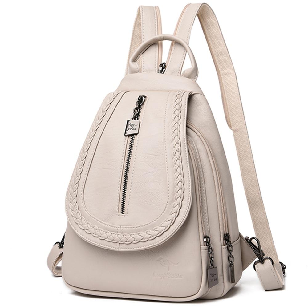 Backpacks Mochilas Chest-Bag Travel Teenage-Girls Female Women Dos Sac For Zipper