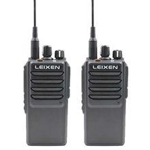 2 قطعة LEIXEN ملاحظة هام راديو UHF 400-480MHz طويل الحديث المدى الهواة اسلكية تخاطب 20 واط مع مروحة التبريد المهنية