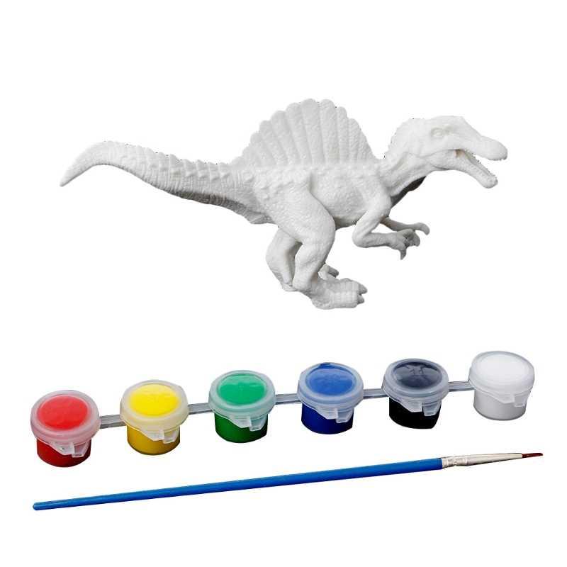 DIY kolorowanki do malowania zwierząt model dinozaura rysunek Graffiti dzieci zabawki dla dzieci
