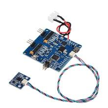 Бесщеточная плата контроллера BGC 3,1 MOS BGC2.2, 2 оси, для прошивки BGC30P, для стабилизатора 7,4-16,8 в 2204 2805