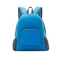Outdoor Sport Faltbare Rucksack Wasserdichte Rucksack Abdeckung Multi-Funktionale Wandern Und Reisetasche Pack