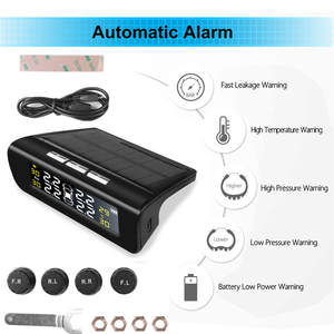 Pressure-Monitoring-Systems External-Sensors Security-Alarm-Bar Car-Tire Universal Auto