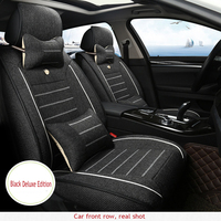 ZRCGL Universal Flx Car Seat covers for Ssangyong All Models Rexton Korando Rodius ActYon kyron car styling auto accessories