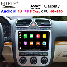IPS DSP 4G Android 10 2DIN LETTORE GPS Per Auto Carplay per Seat Altea Toledo VW GOLF 5/6 Polo Passat b6 CC Tiguan Touran RADIO NO DVD
