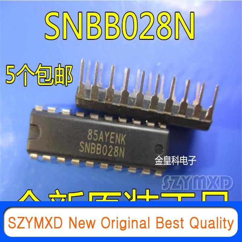 5 шт./лот новый оригинальный SNBB028N SNBB028 в он-лайн DIP20 конвертер усилитель чип в наличии