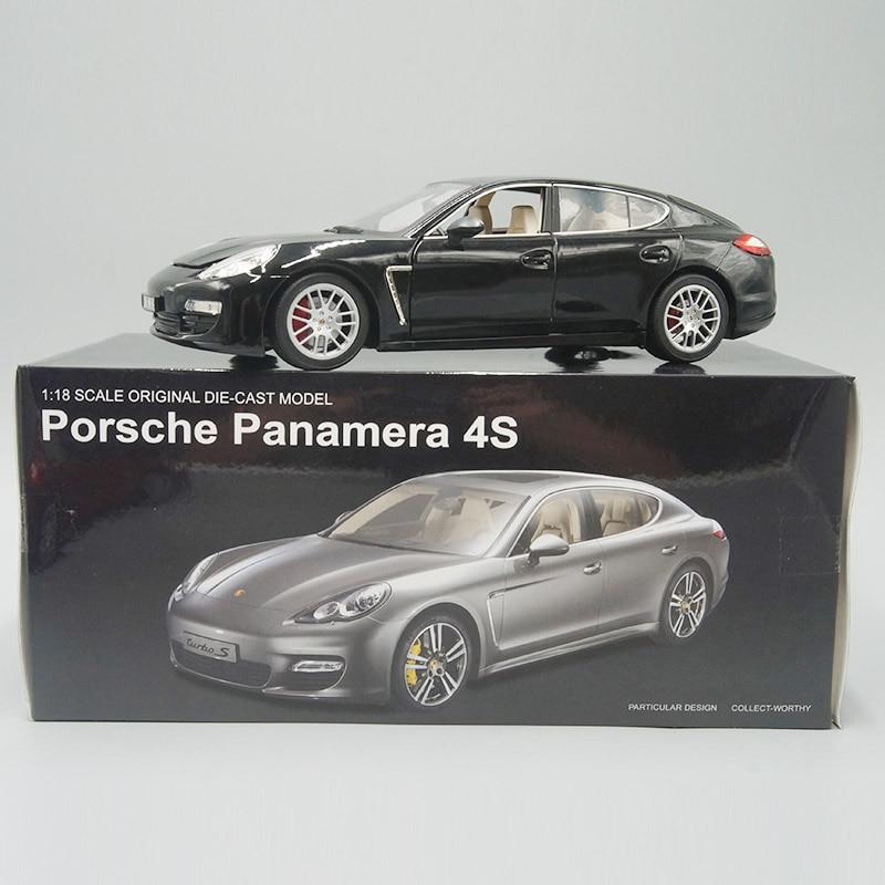Reproduction du modèle de voiture Miniature Panamera 4s, reproduction de Collection, 1:18