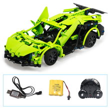 AIBOULLY 51007 Technic Series RC Remote Control Sportscar Racing Car Building Block Brick Toys For Children aiboully 3335 technic f1 racer building bricks blocks toys for children game car formula 1 compatible with aiboully 8674