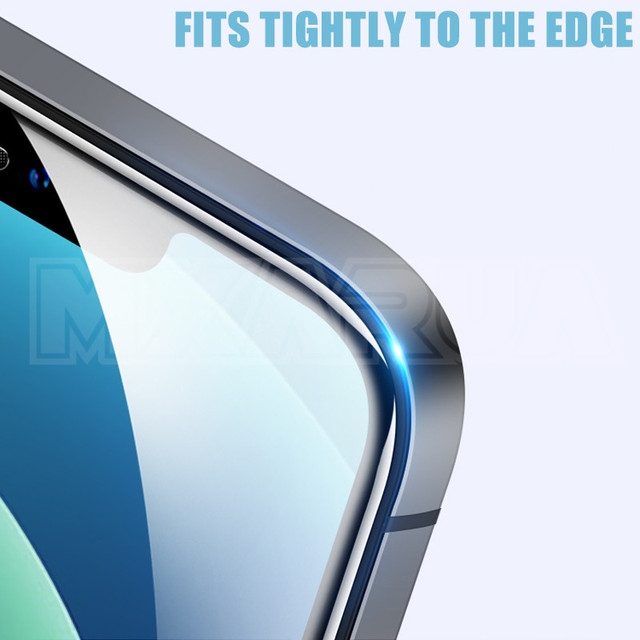 2000D Curved Protective Glass For iphone 6 6S 7 8 Plus SE Screen Protector on iphone X XR XS 11 12 Pro Max Tempered Glass case 3