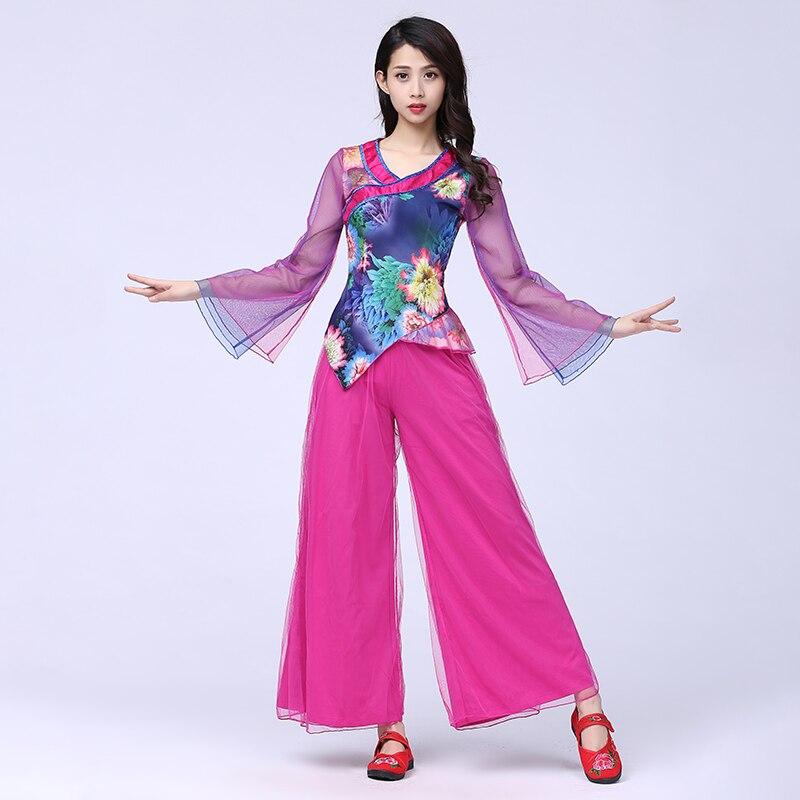 Бренд, хит продаж, квадратный танцевальный костюм для женщин и взрослых, костюм 2019, новые современные костюмы для танцев Yangko, Одежда для
