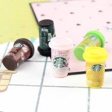 Coffee-Mugs Miniature Dollhouse Bjd-Accessories Drinks-Food Kitchen Model Pretend-Play