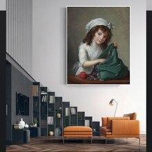Holover E.-pintura al óleo de Vigee