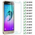 9H для экрана из закаленного стекла для Samsung Galaxy J3 J5 J7 A3 A5 A7 2016 2017 стекло, протектор для экрана на Samsung S7 Защитная стеклянная пленка