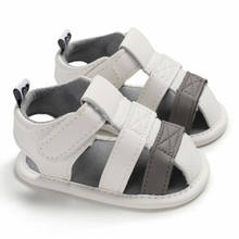 Emmababy New Baby Infant Kid Summer Girl Soft Sole Crib Toddler Boys Sandals Shoes(China)