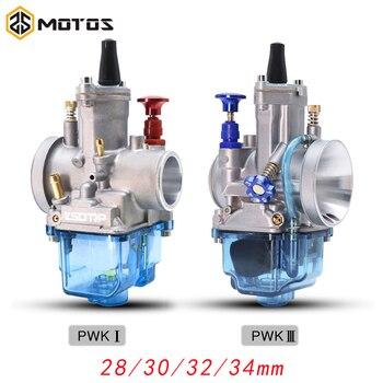 ZS MOTOS-Carburador de alta velocidad para motocicleta Keihin, Carburador Pwk, 28 30 32 34mm, 4T, PWK, compatible con 4T, 50cc a 300cc