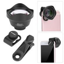 Ulanzi 65 millimetri Ritratto Teleobiettivo Lens/7.5 millimetri Lente Fisheye/16mm Obiettivo Grandangolare/75 millimetri obiettivo Macro Universale Del Telefono Mobile Photo Lens