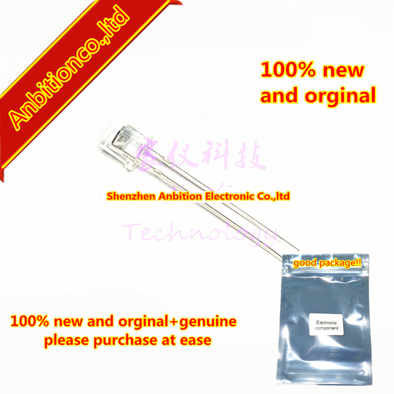 10pcs  100% New And Orginal MID-86416 Flat Head 5MM PIN Photodiode 130 ° Infrared Receiver In Stock
