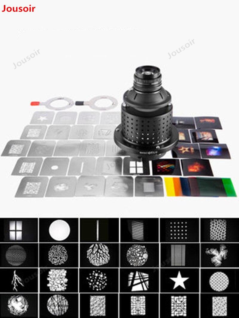 OT1 photographie projecteur projecteur condenseur miroir LED Flash faisceau lumière Art lumière effet graphiques CD50 T03