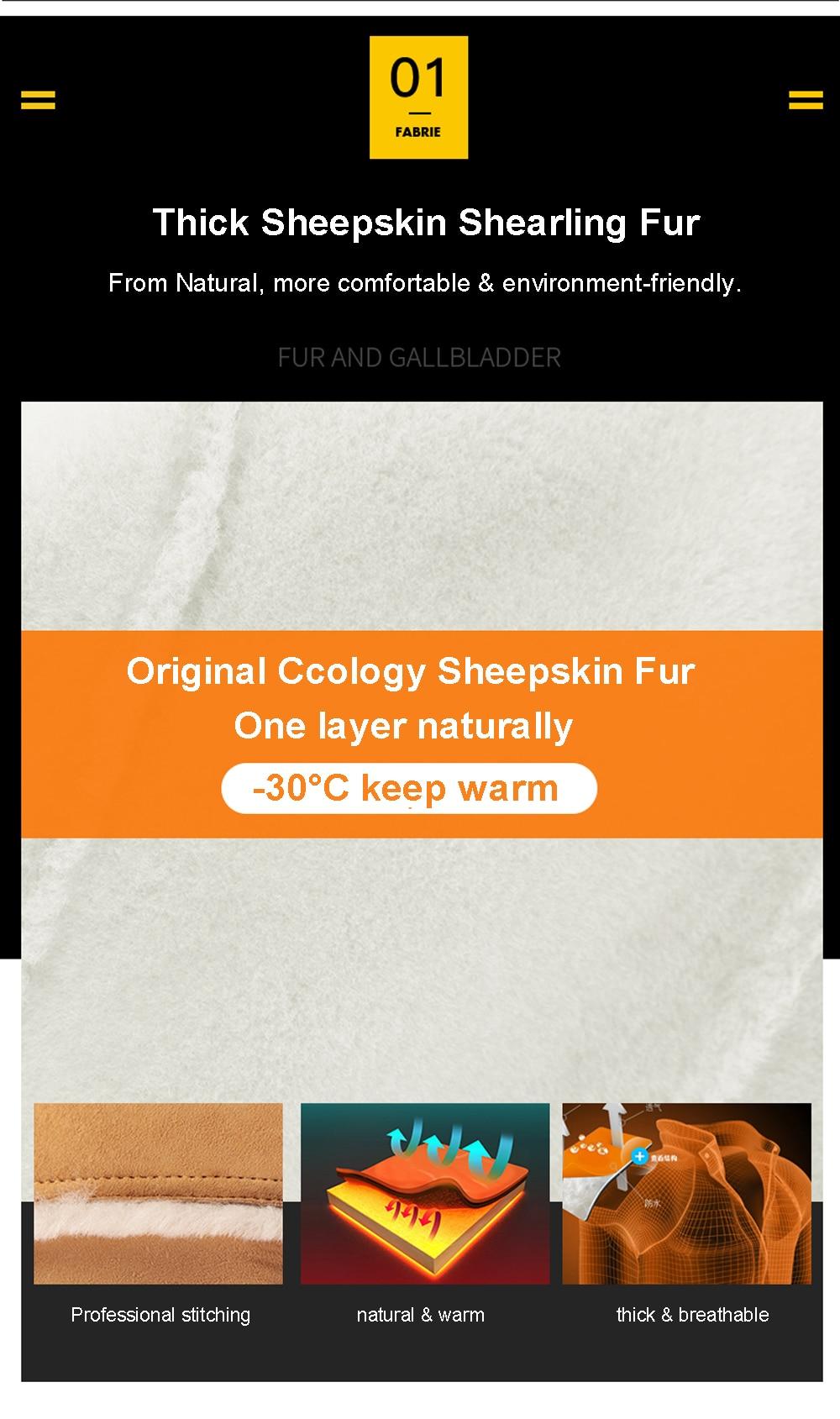 Hddf98427971d492e9d82575bf3261b26I Men Luxury Fur Shearling Coat Yellow Soft Thicken Fur Coat Winter Male Formal Business Fur Sheepskin Jackets