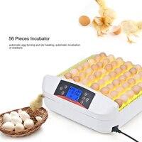 56 Eggs Incubator Full automatic Hatcher for Chicken Duck Turtle Bird Incubation