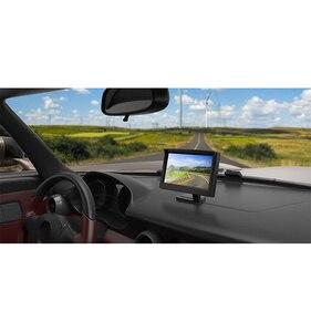 """Image 3 - شاشة سيارة 5 بوصة TFT LCD 5 """"HD الرقمية 16:9 800*480 شاشة 2 طريقة إدخال الفيديو لعكس كاميرا الرؤية الخلفية DVD VCD"""