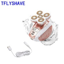 TFLYSHAVE Women Painless Epilator Female Shaver Electric Bod