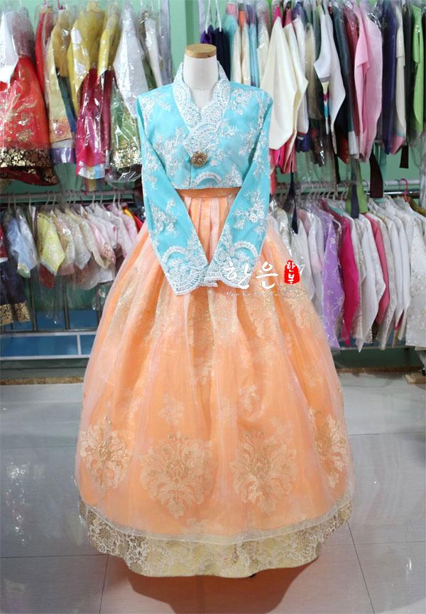 Korea Imported Fabric / New Improved Hanbok / Stage Hanbok / Fine Hanbok  Korean Fashion Clothing