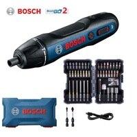 Bosch-destornillador eléctrico go 2 de 3,6 V, herramientas eléctricas multifunción, taladro de mano automático, go2