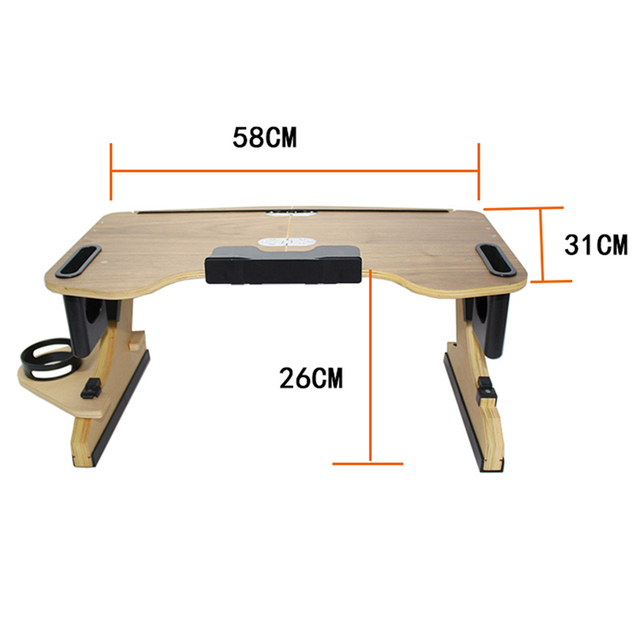 Adjustable Bed Laptop Foldable Notebook Stand  4