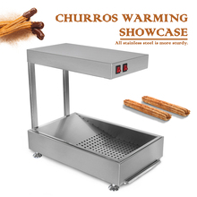 цена на ITOP Electric Potato Chips Churros Fried Chicken Warmer Showcase Commercial Food display cabinet warming showcase