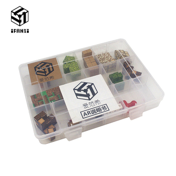 Magnetic Building Blocks My World Toy Diy Kit Boxed Toys Hobby For Children Boys Kids Toys Best Friends Gift Mini Blocks Bricks 957pcs my world figures toy building blocks compatible with legoed minecrafted city diy bricks toy gift for boy girl gift new