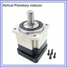 Speed Ratio 15:1  Planetary Reducer Gearbox Reducer 8000rpm for NEMA24 60mm 200W 400W Servo Motor Robot  Helical Gear