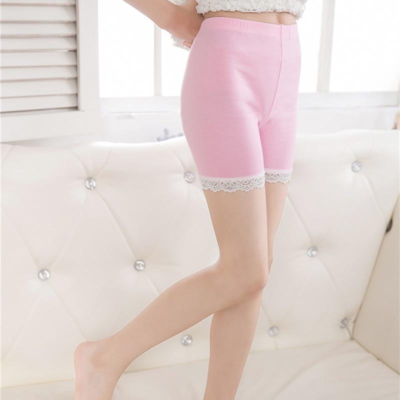 Children Girl Safety Shorts Pants For Kids Girls Safety Lace Shorts Underwear Pants Children Leggings Stretchy Safety Shorts