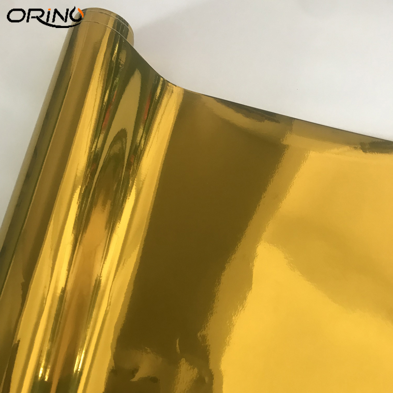 Gold Chrome Vinyl Wrap Sticker-6