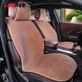 Мягкий плюшевый чехол для автомобильного сиденья  подушка для автомобильного сиденья  нескользящая теплая зимняя поставка  чехлы для автом...