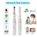 Беспроводной WiFi USB Intra Oral стоматологическая интраоральная камера стоматологическое устройство Светодиодный светильник в режиме реального ...