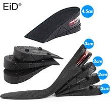 EiD 3-9cm rehaussement de la semelle intérieure coussin rehaussement de la hauteur coupe réglable insertion du talon de la chaussure plus grande femmes hommes coussinets de pied de qualité unisexe