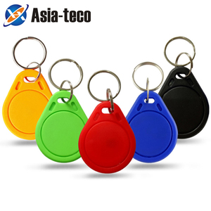 100pcs 13.56MHz IC M1 Keyfobs Tags Access Control RFID Key Finder Card Token Attendance Management Keychain(China)