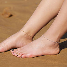 Летняя искусственная цепочка на ногу ustar из нержавеющей стали