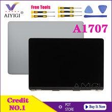 Originele Nieuwe Grijs Zilver Kleur Laptop Scherm Lcd Montage Voor Macbook Pro Retina 15