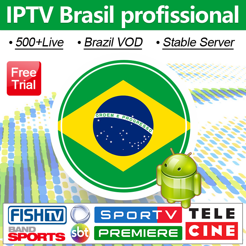 IPTV Brazil Portuguese IPTV Subscription Code 4K Brasil IPTV Channels 500+Live&Vod Subscription IP TV Brazil