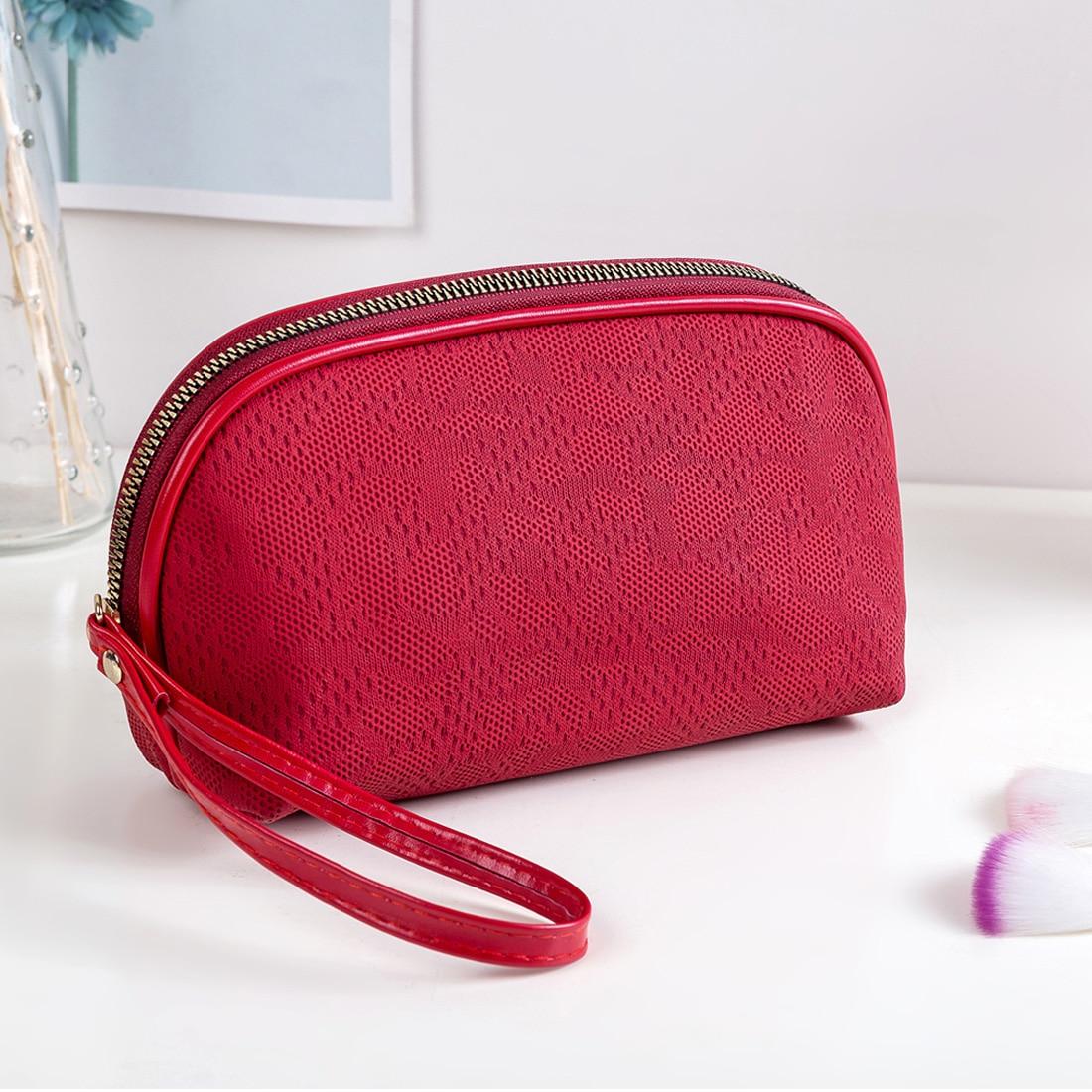 Organizer Pouch Clutch-Bag Make-Up-Bag Women Portable