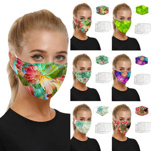 Mask Fabric Halloween in Masque-Scarf Cosplay Universal Mascherine Adults Maks Europe-America