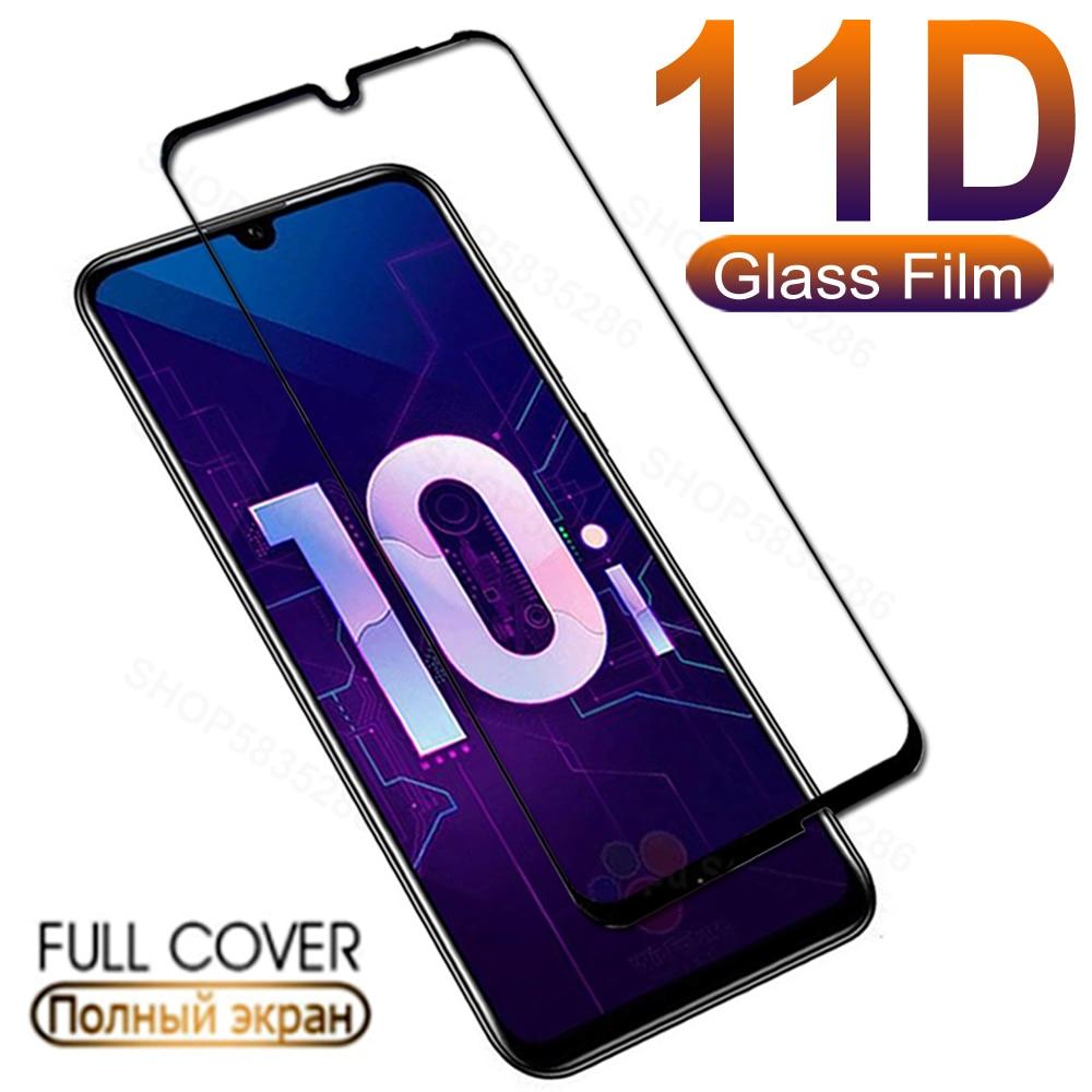 11d vidro de proteção para huawei honor 10 lite 20 pro 10i 20i temperado protetor de tela em honra 8x 8a 8c 8s 9a 9c 9s filme de vidro