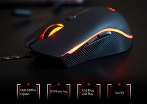 Image 4 - Motospeed V40 Professional Gaming Mouse USB Wired USB Optical Mouse Gamer 3500DPI Ergonomic Mice RGB LED Backlight for PC Laptop