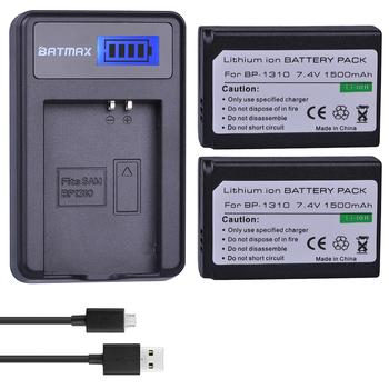 Batmax 1500mAh BP 1310 BP1310 BP-1310 akumulator akku + LCD USB ładowarka do samsunga NX5 NX10 NX100 NX11 NX20 kamery tanie i dobre opinie Camera BP-1310 BP 1310 Standardowa bateria For Samsung NX5 NX10 NX100 NX11 NX20 Brand New LCD USB Charger