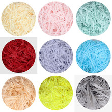 Colorful Wedding Shred Paper Gift Boxes Filler Shredded Paper Crinkle Cut Paper Candy Box Filler Valentine Confetti Shred Paper