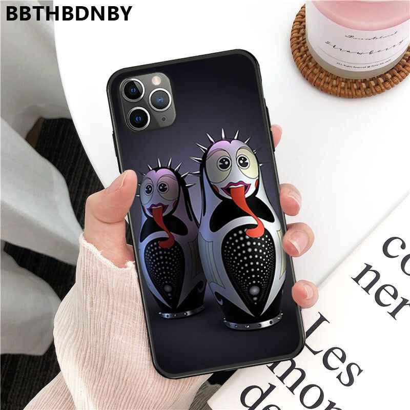 Pour pare-chocs 6s mignon Matryoshka personnalisé Photo doux fundas téléphone étui pour iphone 11 pro XS MAX 8 7 6 6S Plus X 5 5S SE XR étui