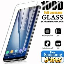 Temperli cam Samsung Galaxy S10 artı cam S9 S8 ekran koruyucu S20 S21 S10e S 9 8 10 e not 20 Ultra S10 5G not 8 9 10