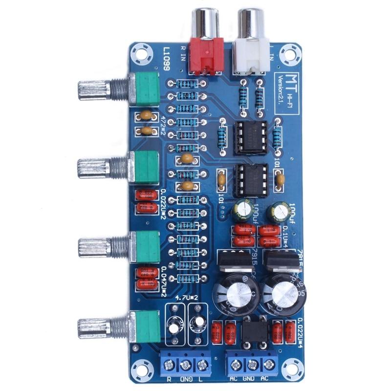 NE5532 OP-AMP HIFI Amplifier Volume Tone EQ Control Board DIY Kits